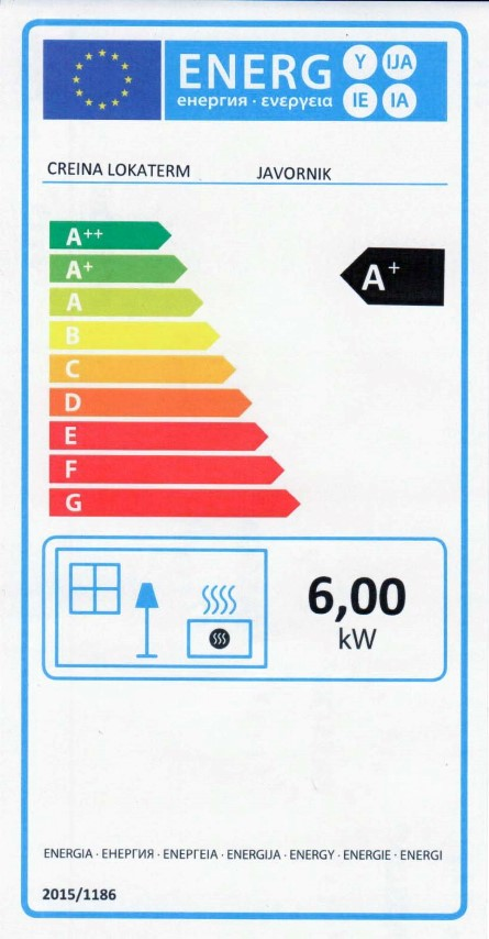 Energijska nalepka JAVORNIK (Small)