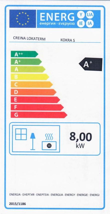 Energijska nalepka KOKRA S (Small)