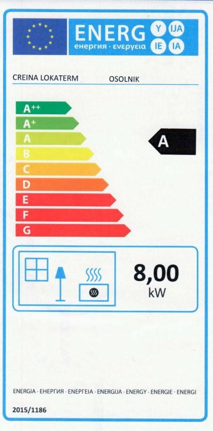 Energijska nalepka OSOLNIK (Small)