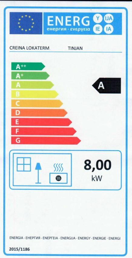 Energijska nalepka TINJAN (Small)