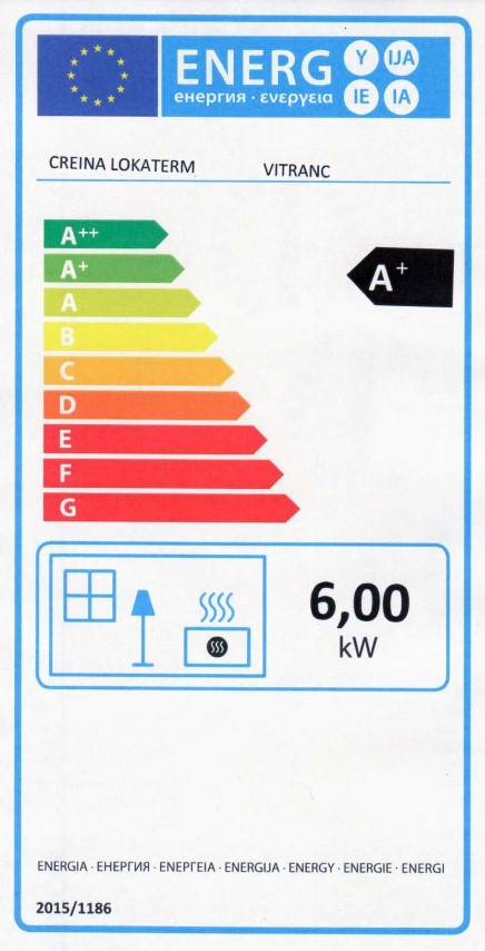 Energijska nalepka VITRANC (Small)
