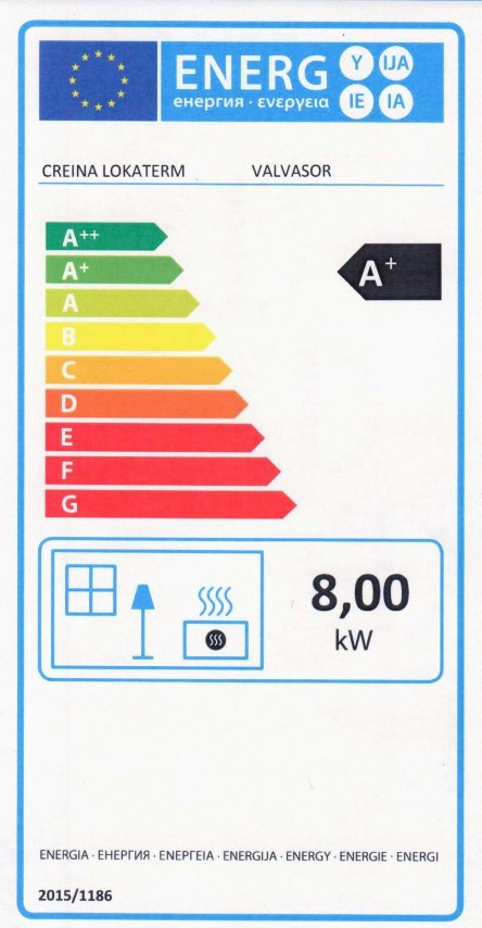 Energijska nalepka Valvasor (Small)