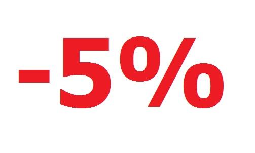 Posezonski popust -5%
